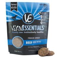 Vital Essentials Freeze-Dried Mini Patties Beef