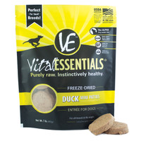 Vital Essentials Freeze-Dried Mini Patties Duck