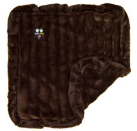 Bessie and Barnie Blanket Godiva Brown 1