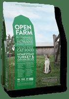 Open Farm homestead chicken and turkey- cat