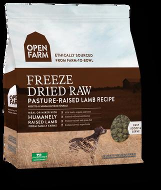 Open Farm Freeze Dried Lamb