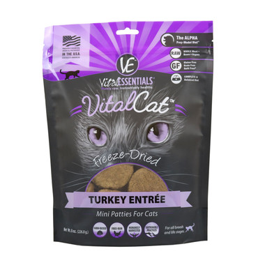 Vital Turkey Patties for Cats
