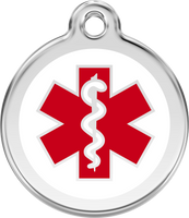 Red Dingo Medical Alert Tag