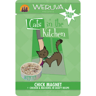 Weruva Cats in the Kitchen 3oz Pouch Chick Magnet