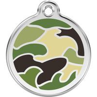 Red Dingo Enamel Camouflage Green