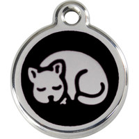 Red Dingo Enamel Tag Kitten
