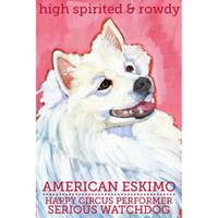 Ursula Dodge American Eskimo Magnet