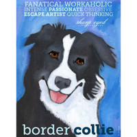 Ursula Dodge Border Collie Magnet