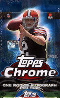 2014 Topps Chrome Football Hobby Box