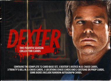 Dexter Season 4 Trading Cards Box