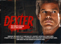 2012 Breygent Dexter Season 4 Trading Cards Hobby Box Set
