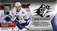 2014/15 Upper Deck SPx Hockey Hobby Box