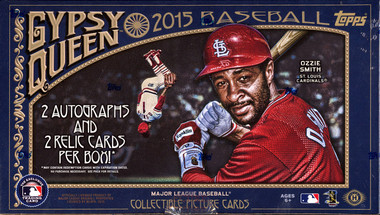 2015 Topps Gypsy Queen Baseball Hobby Box