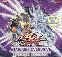 Yugioh Stardust Overdrive Special Edition Box