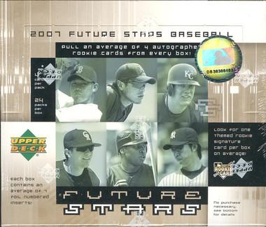 2007 Upper Deck Future Stars Baseball Hobby Box