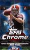 2014 Topps Chrome Football Hobby 12 Box Case