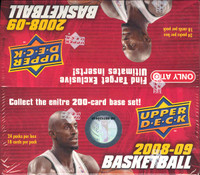 2008/09 Upper Deck Basketball Retail Box