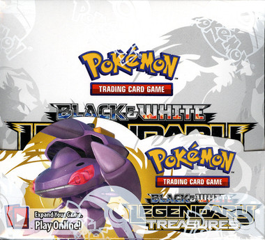 Pokemon B/W Legendary Treasures Booster Box