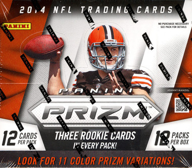 2014 Panini Prizm Football Jumbo Box