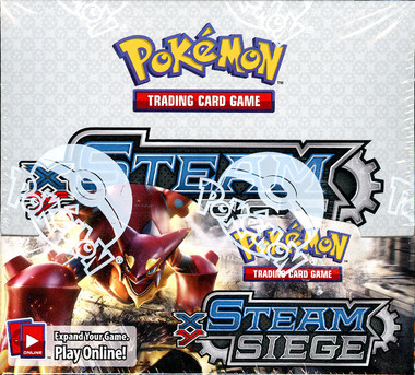 Pokemon XY Steam Siege Booster Box