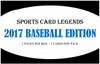 Sports Card Legends 2017 Baseball Edition Hobby Box