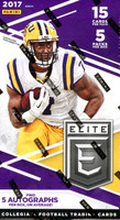 2017 Panini Elite Draft Football Hobby Box