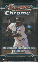 2004 Bowman Chrome Baseball Hobby Box