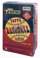 2002 Topps Heritage Baseball 11ct Blaster Box