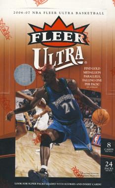 2006/07 Fleer Ultra Basketball Hobby Box