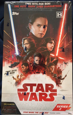 2018 Topps Star Wars The Last Jedi Series 2 Hobby Box