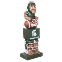 Michigan State Spartans Tiki Team Totem Garden Statue