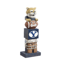 Brigham Young University Tiki Team Totem Garden Statue