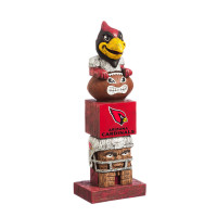 Arizona Cardinals Tiki Team Totem Garden Statue