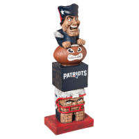 New England Patriots Tiki Team Totem Garden Statue