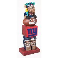 New York Giants Tiki Team Totem Garden Statue