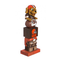 Cleveland Browns Tiki Team Totem Garden Statue