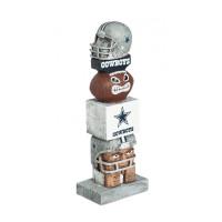 Dallas Cowboys Tiki Team Totem Garden Statue