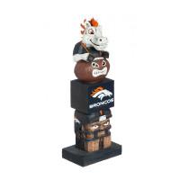 Denver Broncos Tiki Team Totem Garden Statue
