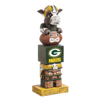 Green Bay Packers Tiki Team Totem Garden Statue