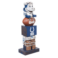 Indianapolis Colts Tiki Team Totem Garden Statue