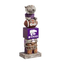 Kansas State Wildcats Tiki Team Totem Garden Statue