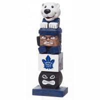 Toronto Maple Leafs Tiki Team Totem Garden Statue