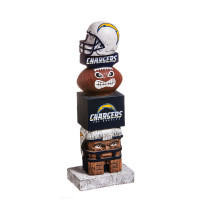 Los Angeles Chargers Tiki Totem Garden Statue