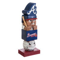 Atlanta Braves Tiki Team Totem