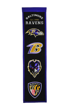 Baltimore Ravens Fan Favorite Banner