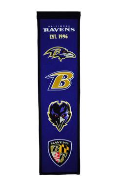 Baltimore Ravens Heritage Banner