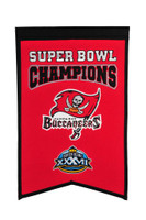 Tampa Bay Buccaneers Super Bowl Champs Banner