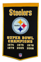 Pittsburgh Steelers SB Banner