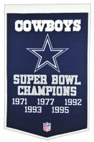 Dallas Cowboys SB Banner