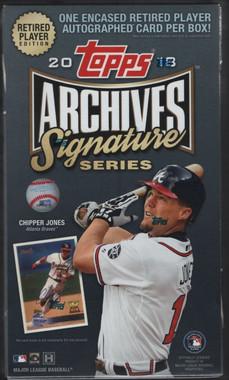 2018 Topps Archives Signature Series Retired Player Ed Baseball Box
